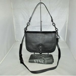 Vince Camuto Cason Small Leather Flap Shoulder Bag